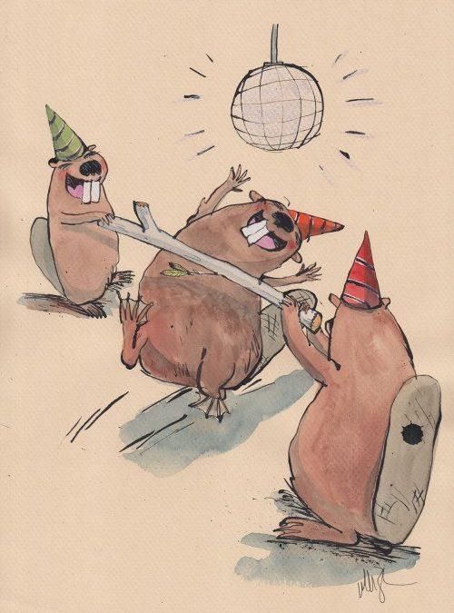 New Auction: Beaver Party